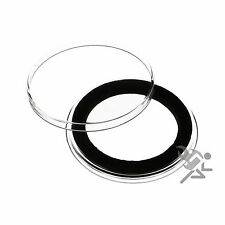 Canadian One Dollar Coin Capsule, Air-Tite Holders 36mm Black Ring, 20 Pack