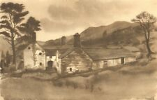 WALES. Ddu Allt. By Mona Moore 1948 old vintage print picture