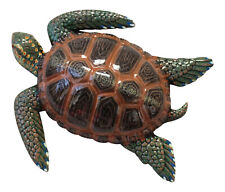 Tropical Sea Turtle Wall Beach Tiki Bar Nursery Bath Decor 8Stw07 Brown Back
