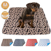 Washable Pee Pads for Pet Dogs Potty Pee Training Indoor Toilet Dog Mat Reusable
