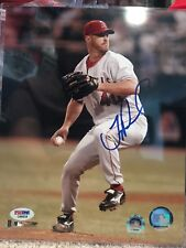 Troy Percival Signed Los Angeles Angels 8x10 Photo PSA