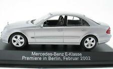 MINICHAMPS - Mercedes-Benz E-Klasse - Premiere in Berlin Februar 2002 - 1:43 OVP
