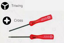 NINTENDO tri-wing Y & philips screwdriver set GBA Wii, U DS Game boy Advance, SP