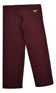 Unisex Virginia Tech Hokies Scrubs Hospital Pants New S,M,L,XL,2XL