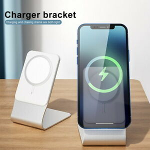 Bracket Stand Holder Magnetic Wireless Charger Base For iPhone 12 Pro Max Mini