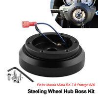 Aluminum Steering Wheel Hub Adapter Boss Kit For Hyundai Accent Genesis