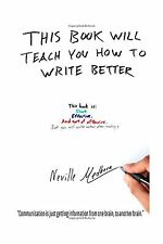 This book will teach you how to write better: Learn how to get ... Free Shipping