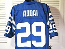 Indianapolis Colts Football Jersey~#29 ADDAI~Reebok Length +2~Men's XL~EUC!