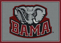"4x6 Milliken Alabama Crimson Tide NCAA Spirit Area Rug - Approx 3'10""x5'4"""
