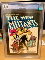 Marvel Graphic Novel #4 🗝 (CGC 9.6) 1st Appearance New Mutants 1982