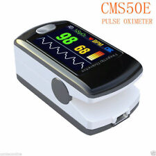 CMS50E Pulse Oximeter Finger Tip Blood Oxygen Monitor, Alarm+PC Software CONTEC