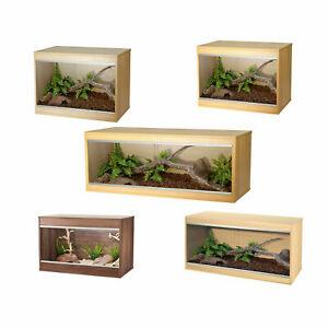 Vivexotic Repti-Home - Wooden Reptile Vivarium - Snake Lizard Housing