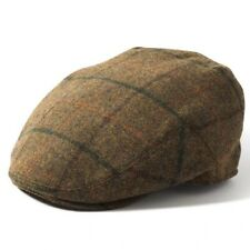 Failsworth Gamekeeper 100% Wool Flat Cap 1189