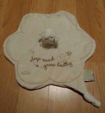 Cloud B Sleep Sound Grow Healthy Cream Brown Sheep Lamb Security Blanket Lovey