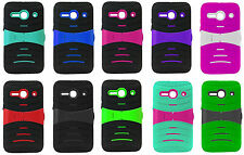 U-Stand Hybrid Case Phone Cover for Alcatel Onetouch Pixi PULSAR LTE A460G