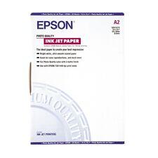 EPSON A2 MAT ENVELOPPÉ PHOTO JET D'ENCRE PAPIER 102GSM 30 FEUILLES C13S041079