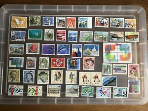 Switzerland stamps unchecked (aa911)