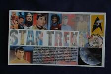 Star Trek Enterprise in Logo 47c Stamp Fdc Bullfrog Cachet S#5132 11559 Desi#44C
