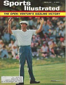 1964 6/29 Sports Illustrated Golf magazine Ken Venturi US Open Congressional VG