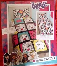 2x BRATZ Girls Single Duvet Quilt Cover & Pillowcase Bedding Sets REVERSIBLE