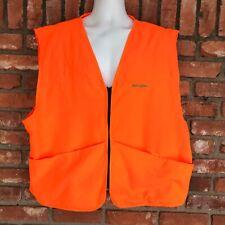 REMINGTON Orange Lightweight Outdoor Hunting Shooting Safety Vest Mens Sz 2XL