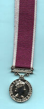 BRITISH ARMY - MINI MEDAL REGULAR ARMY LONG SERVICE & GOOD CONDUCT MEDAL