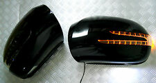 Mercedes X164 05~08 GL-Class BLACK Arrow Type LED Side Mirror Cover GL320 GL550