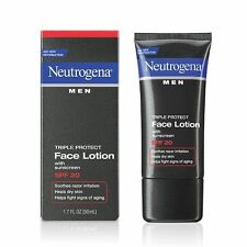Neutrogena Men Triple Protect Face Lotion SPF 20 1.7 oz