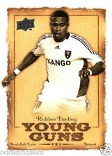 2008 Upper Deck MLS 'Young Guns' Robbie Findley YG-09     Real Salt Lake     USA