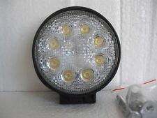 LED WORK LIGHT ROUND SUPER BRIGHT 24 WATT 12 VOLT INC MOUNTING BRACKET