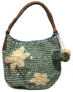 Tommy Bahama Bahama Mama Hobo Bag, Green Combo Color