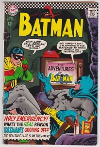 Batman #183 G-VG 3.0 Robin Second Appearance Of Poison Ivy 1966!