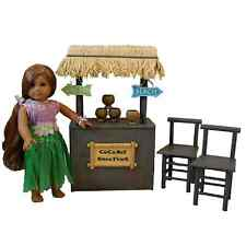 "18"" Doll SHAVED ICE COCONUT SMOOTHIE STAND For American Girl Furniture Accessory"