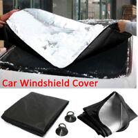 Universal Windshield Snow Cover Anti-UV Ice Rain Frost Guard Car Window Cover-WI