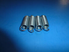 Tension Spring, Lot of 4, .640 O.D. X 2.500 O.A.L., FREE SHIPPING, WG1408