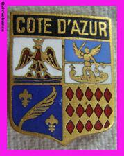 BG3196 - INSIGNE BLASON COTE D'AZUR