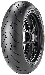 Pirelli Diablo Rosso II Tire Rear - 190/50ZR-17 2068600* 190/50-17 Sport 29-6150