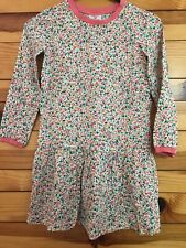 Hanna Andersson Flower Happy Dress in Challis EUC Girls Rayon Size 130 or 8