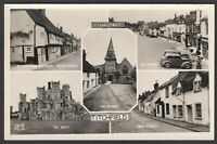Postcard Titchfield nr Fareham Hampshire vintage multiview Greetings From RP