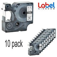 10 PK Compatible DYMO 18057 18058 Rhino Industrial Heat Shrink Labels 19mm 3/4''