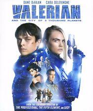 Valerian & City Thousand Planets 2017 Pg-13 fantasy movie, new Dvd, Dane DeHaan,