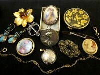 Mixed Lot of Antique & Vintage Jewellery