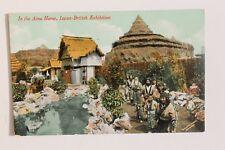 29264 PC Japan British Exhibition In the Ainu Home 1910 AK Ausstellung