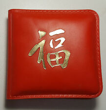 1978 Singapore 10 Dollars KM# 17.1  Silver BU Coin in Red Wallet