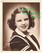 Rare JUDY GARLAND Wizard of Oz MGM 1939 Litho Vintage Original Photo Theater Ads