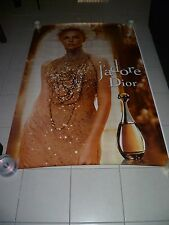 AFFICHE DIOR J'ADORE CHARLIZE THERON 4x6 ft Shelter Original Fashion Poster