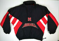 Vintage 90s University Nebraska Cornhuskers Starter Jacket Lg no hood Top Tier