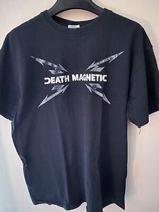 Metallica Death Magnetic T-Shirt - M (Metallica, Megadeth, Slayer, Anthrax)