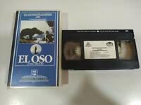 EL OSO THE BEAR JEAN JACQUES ANNAUD - VHS Cinta Español - 2T