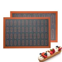 Silicone Mat Non Stick Puff Perforated Liner Pad Cookie Bread Mold Oven Sheet K